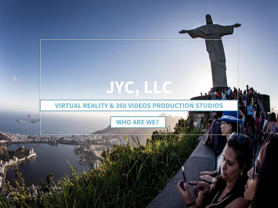 JYC VR Virtual Reality 360 Videos Immersive Storytelling Production Studio