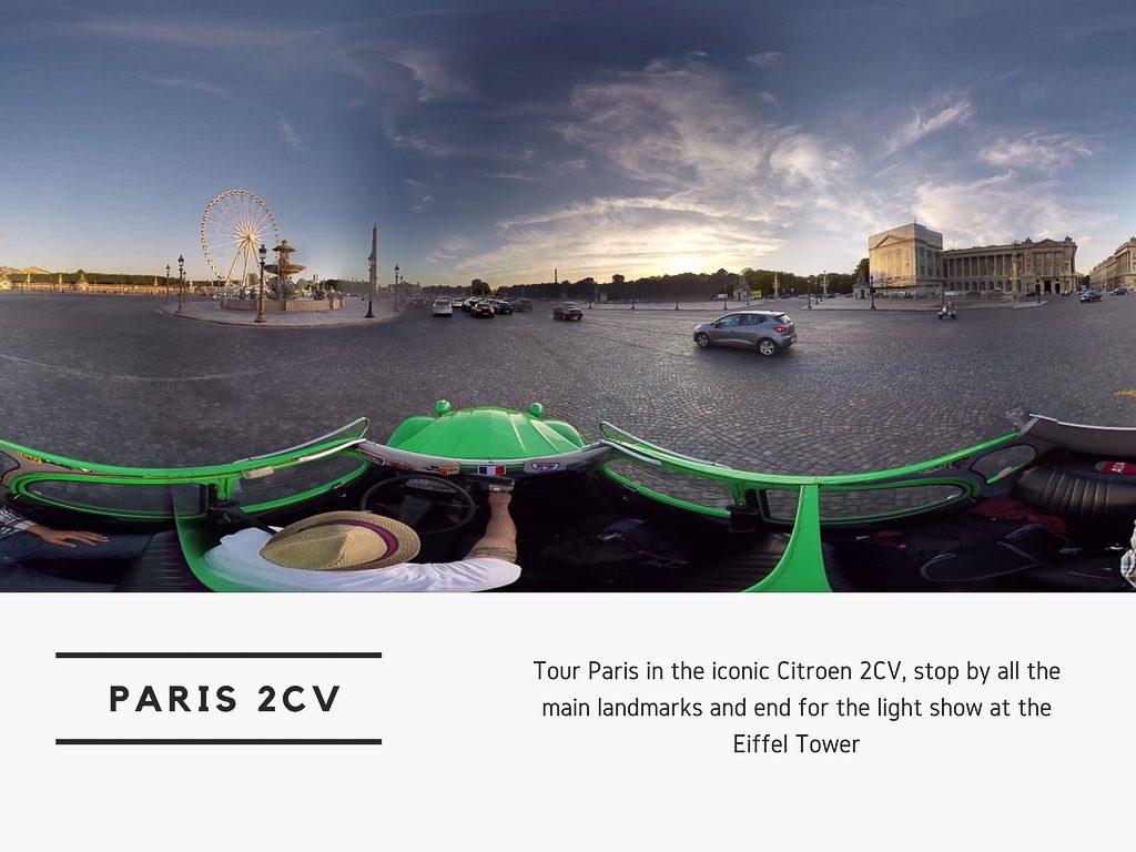 Virtual Reality Production Studio JYC VR Catalog France Paris