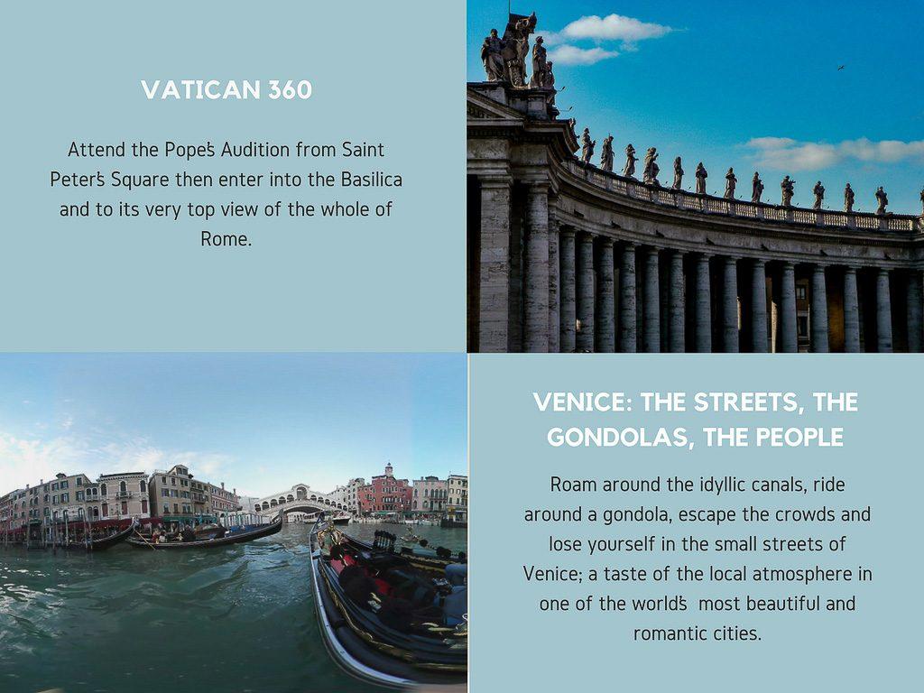 Virtual Reality Production Studio JYC VR Catalog Italy Vatican