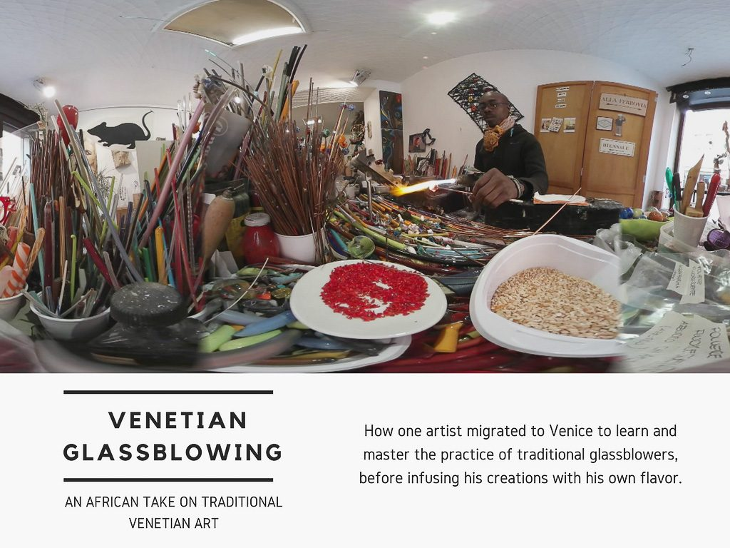 Virtual Reality Production Studio JYC VR Catalog Italy Venice Glassblower