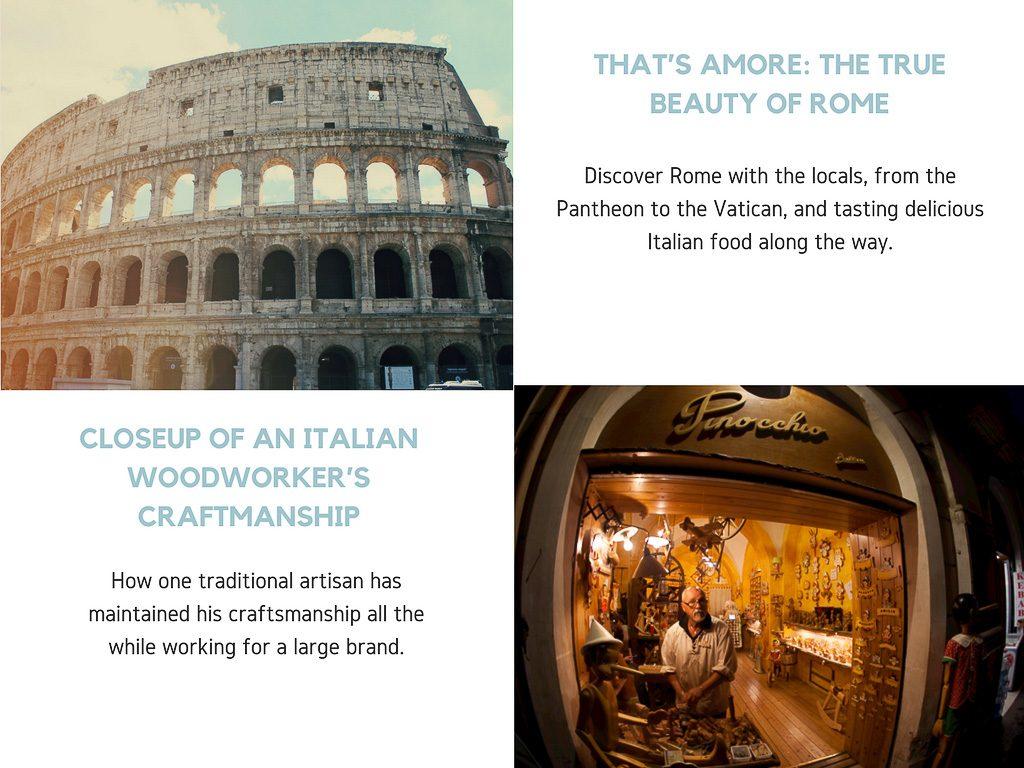 Virtual Reality Production Studio JYC VR Catalog Rome Pinocchio