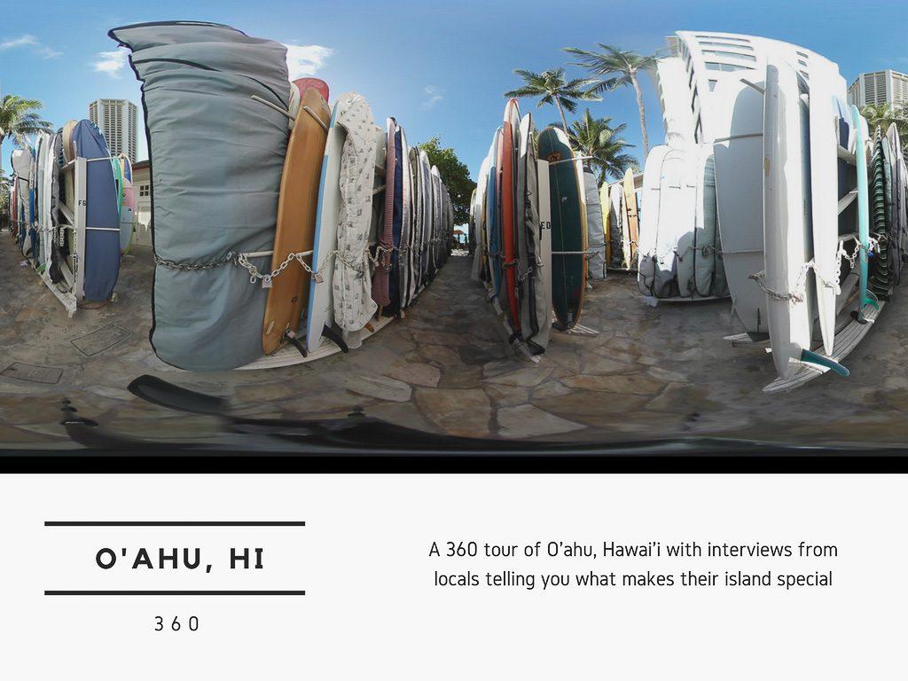 Virtual Reality Production Studio JYC VR Catalog USA Hawaii