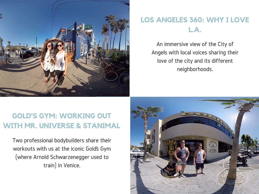 Virtual Reality Production Studio JYC VR Catalog USA Los Angeles